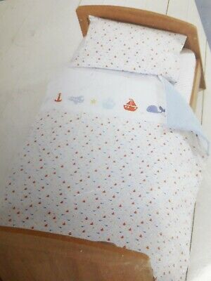 Mothercare Adventure Ahead cot bed quilt / coverlet / nursery/ bedding