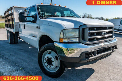 2004 Ford F450 Super Duty XL Used flatbed landscape 1 owner crew cab diesel nice