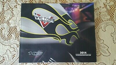 2014 Victory Motorcycle Brochure, Used But Like New