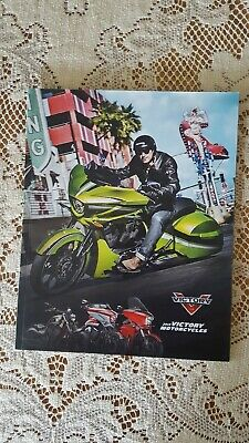 2015 Victory Motorcycle Brochure, Used But Like New