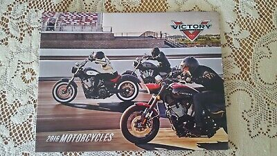 2016 Victory Motorcycle Brochure, Used But Like New