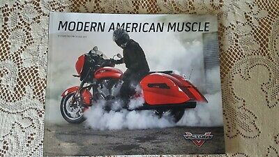 2017 Victory Motorcycle Brochure, Used But Like New