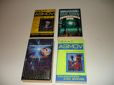 Foundation Series -Isaac Asimov- Prelude + Second + Edge + Foundation / Empire