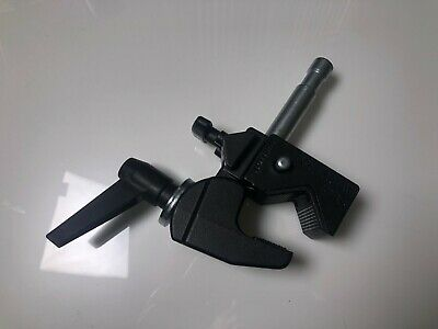 Manfrotto 035 Super Lighting Clamp With Matthews Baby Pin Stud - New Complete