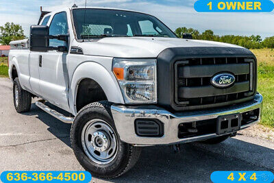 2011 Ford F-250 XL 2011 XL Used 6.2L V8 16V Automatic 4X4 Pickup Truck fuel cell tool boxes clean