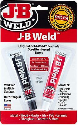 J-B Weld 8265S Original Cold-Weld Steel Reinforced Epoxy - 2 oz