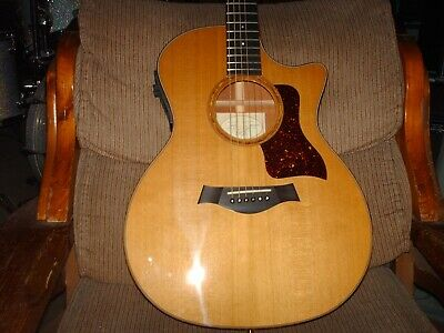 Taylor 514ce 6- String Acoustic/ Electric Guitar~ 2001 w/ OHSC Excellent Shape