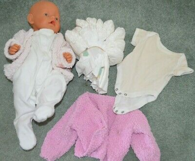 Baby Born Doll & Clothes, Nappies