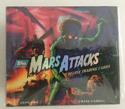 1994 MARS ATTACKS ARCHIVES  Topps Sealed Box- NEW