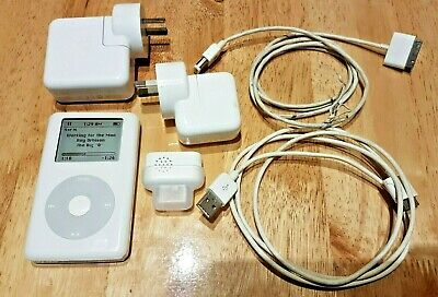 4th gen 20gb iPod classic with recorder and additional charger