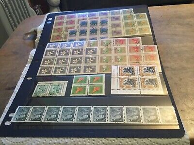 Canada 10 X Used Blocks Of Stamps