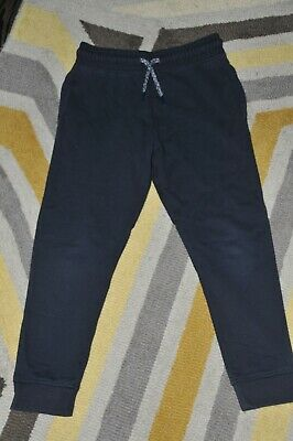 Boys Next Navy Slim Joggers Jogging Bottoms Size 6 Years