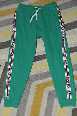 Boys Next Green Slim Joggers Jogging Bottoms Size 7 Years