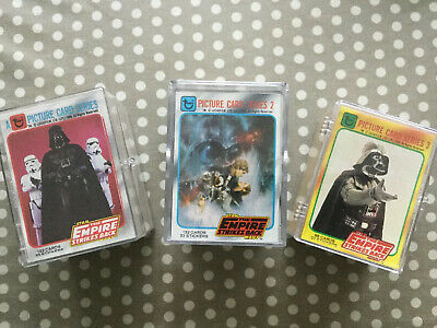 Star Wars The Empire Strikes Back Picture Card Series 1, 2 And 3