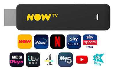 NOW TV Smart Stick Brand New Latest Model With HD & Voice Search