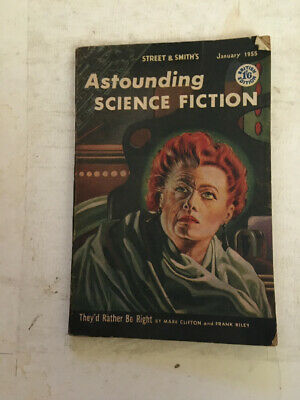 Astounding Science Fiction January 1955
