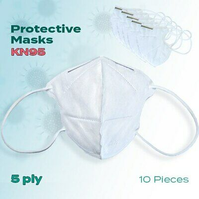 10 Pieces KN 95  Face Masks 5 Ply thick KN95 Mask KN-95
