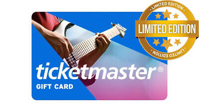 Ticketmaster GIFT CARD $ 100 USD | Worldwide | Fast Free Delivery