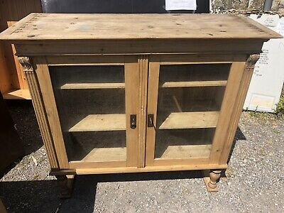Beautiful Old Antique Stripped Pine Dresser Top
