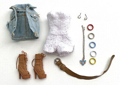 Integrity Toys Fashion Royalty Dynamite Girl White Pique Jumpsuit With Access NR