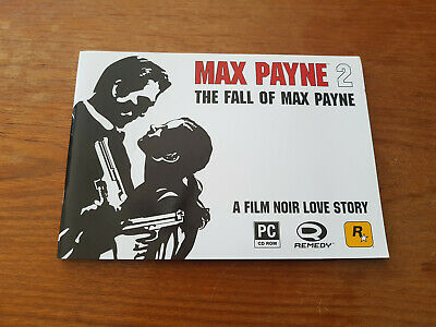 Max Payne 2 - Press Kit- Glossy Card with; Poster, Sticker and 6 Dummy Sleeves