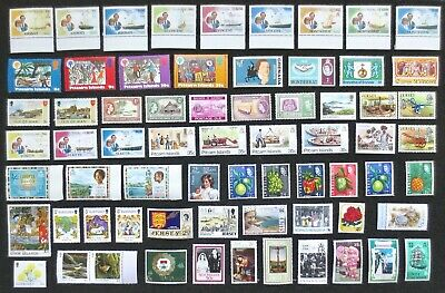 British Commonwealth Etc. - Good Selection of 65+ MNH/MM Stamps