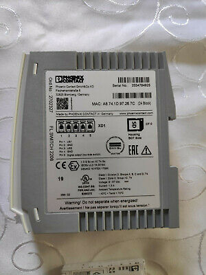 Phoenix Contact Industrial Ethernet Switch FL SWITCH 2208 IP20 Switch 2702327