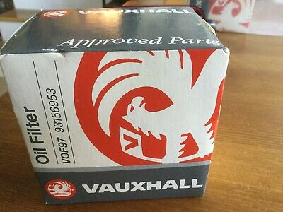 GM/Vauxhall Oil Filter VOF97 93156953