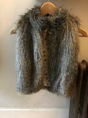 Angels and Rocket Girls Fur Lined Gilet 4-5 Years boden