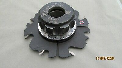Leitz adjustable groover for spindle