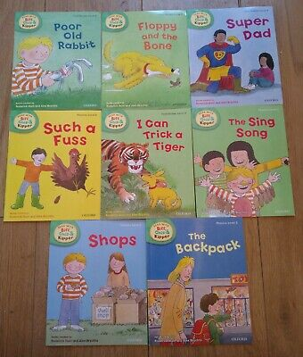 Oxford reading Tree Stage 3 Biff Chip & Kipper Stories 8 Books level 3