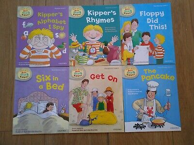 Oxford reading Tree Stage 1 Biff Chip & Kipper Stories 6 Books level 1