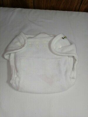 Mother-ease One Size fitted diaper with removable snap-in liner Adjustable