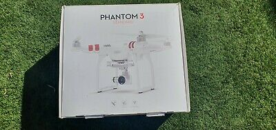 DJI  Phantom 3 Standard Drone with extra battery-  White excellent condition