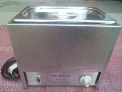 Telsonic TEC-40 Ultrasonic Cleaner Heated Cleaning Equipment - Swiss Made!
