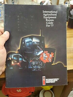 VINTAGE 1977 INTERNATIONAL IH TRACTOR BUYERS GUIDE Greenville PA CATALOG