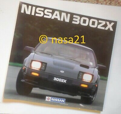 factory book, Nissan 300ZX, 1983, pre-US introduction