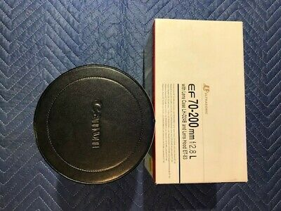 Canon EF 70-200mm Lens Case and Box Only