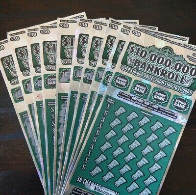 100 California Lottery $30 2nd Second Chance Scratchers Tickets 3000 Entries!