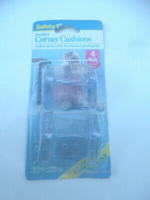 Safety 1st 4pk Clearly Soft Corner Cushion - NEW