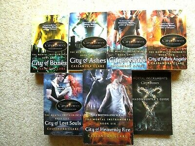 New CASSANDRA CLARE - Complete MORTAL INSTRUMENTS Series  + SHADOWHUNTER'S GUIDE