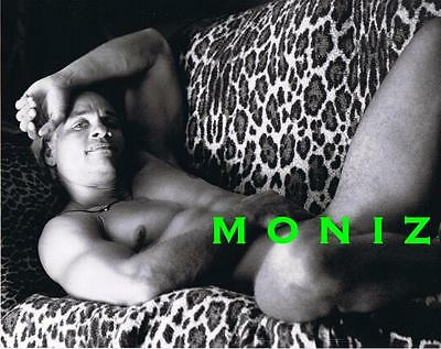 EXOTIC NUDE MALE BEEFCAKE photo on LEOPARD PRINT #3 gay