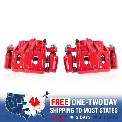 Front Red Coated Brake Caliper For 2007 2008 2009 Equinox Torrent XL-7