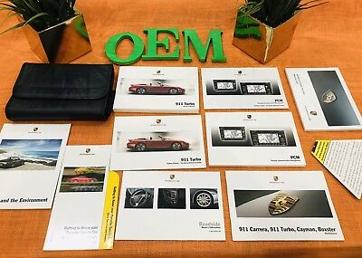 2010 Porsche 911 Turbo S Owners Manual +Navigation Bk Coupe Convertible ((Oem))