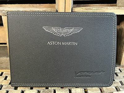 2014 2015 Aston Martin Vanquish Owners Manual **Extremely Rare** Oem Mint!!!