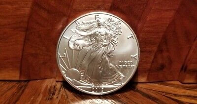 2019 $1 American Silver Eagle **Uncirculated** Lot - 1