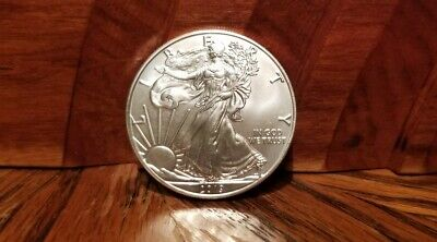 2019 $1 American Silver Eagle ** Uncirculated** Lot - 2