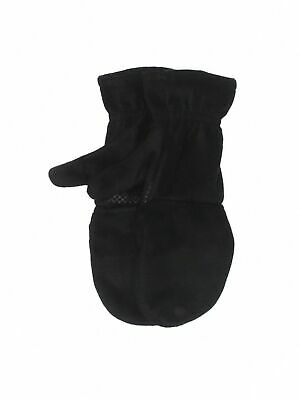 Eddie Bauer Women Black Mittens One Size