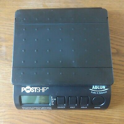 ABCON Post Ship - Postal Scale Shipping Scales Max Wright 40kg Weighs Parcels