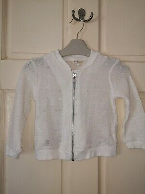 Girls summer jacket/cardigan by River Island, age 2-3 yrs, fab condition